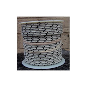 18 gauge 100 foot spool cotton braided wire