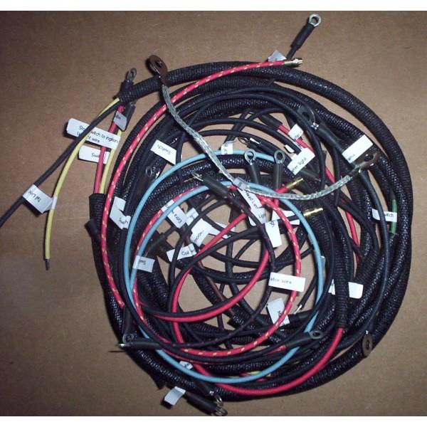 [SCHEMATICS_4HG]  1934 to 1942 Indian Sport Scout wiring Harness | Scout Wiring Harness |  | Cotton Braided Wire