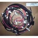 Harley Hummer ST, STU 1958 to 1959 wiring harness with metal fuse holder and bracket.