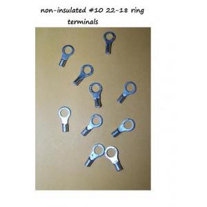 Ring Terminals number 10, Ten pieces