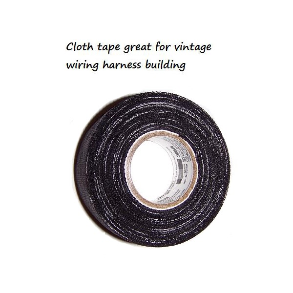 cloth-ided-tar-tape-one-roll Are Topper Wiring Harness on suspension harness, cable harness, battery harness, electrical harness, amp bypass harness, safety harness, maxi-seal harness, radio harness, engine harness, alpine stereo harness, fall protection harness, nakamichi harness, dog harness, pet harness, obd0 to obd1 conversion harness, pony harness, oxygen sensor extension harness,