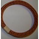 18 gauge Black Cotton Braided Wire