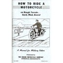 Indian how to ride a motorcycle form:M638