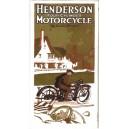 1922 Henderson Deluxe Foldout Brochure