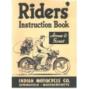 149 / 249 Indian arrow, scout riders instruction book