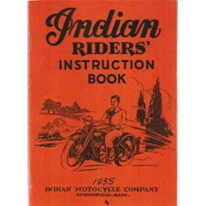 1935 Indian riders instruction book