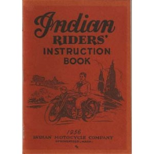 1936 Indian Motorcycle Riders Instruction book