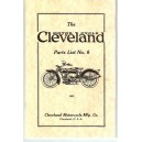 1925 Cleveland motorcycle parts list No.6