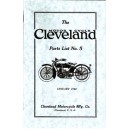 1922 Cleveland Motorcycle parts list No.5