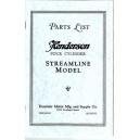 1929,30,31 Henderson KJ, KL Streamline