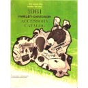 1961 Harley Accessories Catalog
