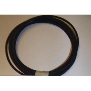 16 gauge Black Cotton Braided Wire