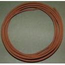 18 gauge Yellow Cotton Braided Wire