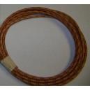 18 ga special Oak Cotton Braided Wire