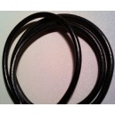 10 feet of 7mm Black gloss spark wire