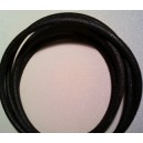 10 feet of 7mm Black dull finish spark wire