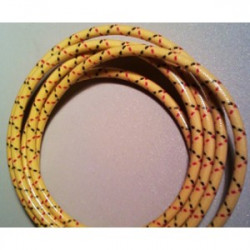 7mm Yellow with Red and...