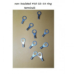 Number 10 size Ring Terminals