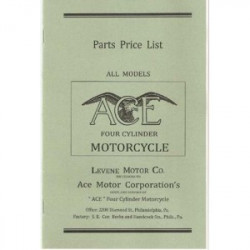 Ace Motorcycle 1920 To 1924...