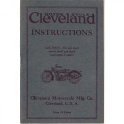 1920 Cleveland Instructions...