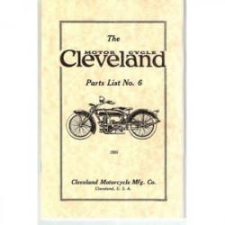 1925 Cleveland Parts List No.6
