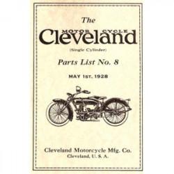 1928 Cleveland Parts List No.8