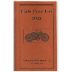 1911 Harley parts List.