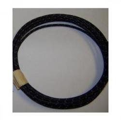 18 gauge Black with Blue...