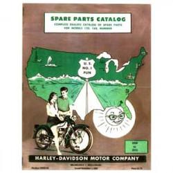 1955 Harley Hummer Spare...