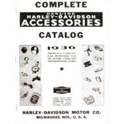 1936 Harley Accessories...