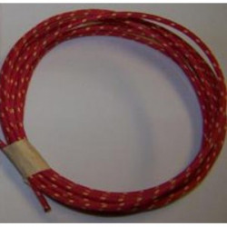 18 gauge Red with White Tracer