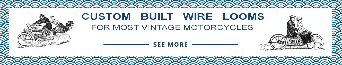 Get a price on custom made wiring harness's for antique and vintage motorcycles.